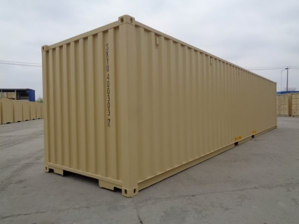 40 Foot Beige Container